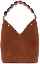 Anya Hindmarch - Borsa a spalla 'Bucket' - women - Nubuck Leather - OS - BROWN