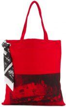 - Calvin Klein 205W39nyc - Borsa x Andy Warhol Foundation - women - Cotone - Taglia Unica - Rosso