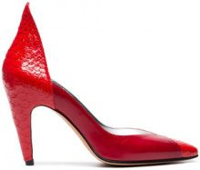 Givenchy - Pumps '110' - women - Leather/Python Skin - 36, 39, 41 - RED