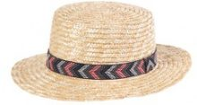 Cappello di paglia, nastro etnico