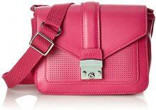 edc by Esprit 028ca1o005 - Borse a tracolla Donna, Rosa (Pink Fuchsia), 7x13.5x18 cm (B x H T)