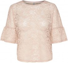 ONLY Lace 2/4 Sleeved Blouse Women Beige