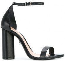 Schutz - Sandali con tacco largo - women - Leather - 37, 39, 40, 41 - Nero