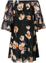 L'Autre Chose - Vestito con spalle scoperte - women - Silk - 42 - BLACK