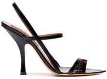 Y / Project - Black 110 Leather Strappy Sandals - women - Leather - 36, 37, 38, 39, 40 - Nero