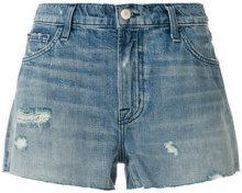 J Brand - Shorts denim a vita bassa - women - Cotone/Lyocell - 26, 28, 29, 27, 25 - BLUE