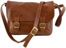 Borsa a tracolla Dream Leather Bags Made In Italy  Borsa A Tracolla In Pelle Colore Cognac - Pelletteria Toscana Ma