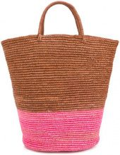 Sensi Studio - Borsa intrecciata - women - Straw - OS - BROWN