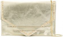 Marc Ellis - Borsa Clutch 'Keira' - women - Leather - One Size - METALLIC