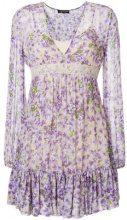 Twin-Set - Vestito con stampa a fiori - women - Polyamide/Viscose/polyester - 46 - NUDE & NEUTRALS