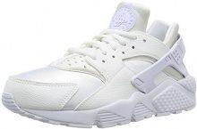 Nike Wmns Air Huarache Run, Scarpe Sportive Donna, Bianco (Blanco (White/White)), 38.5 EU