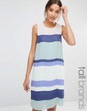 Y.A.S Tall - Vestito a pieghe a blocchi di colore