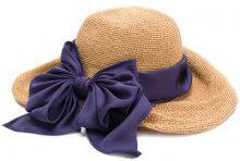 Ca4la - Cappello con fiocco - women - Paper/Polyester - OS - NUDE & NEUTRALS