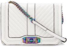 Rebecca Minkoff - Borsa a tracolla - women - Leather/Polyester - OS - WHITE