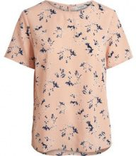 PIECES Printed Short Sleeved Blouse Women Pastel