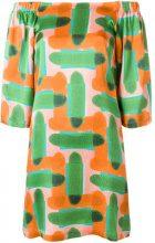L'Autre Chose - Vestito con spalle scoperte - women - Silk - 38, 40, 42 - MULTICOLOUR