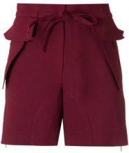 Olympiah - drawstring shorts - women - Polyester/Spandex/Elastane - 38, 40, 42 - RED
