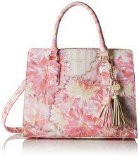 Belmondo740272 - Borsa a spalla Donna, rosa (Pink (rosa combi)), 40x22x11 cm (B x H x T)