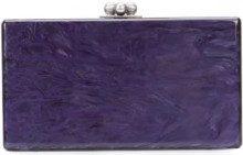 Edie Parker - Borsa clutch scatola - women - Acrylic - OS - PINK & PURPLE