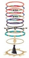 11 PACK ABILINNA - Bracciale - bright multi