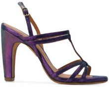 Chie Mihara - Sandali 'Eiden' - women - Leather/rubber - 36, 37, 38, 39, 40 - PINK & PURPLE