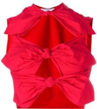Vivetta - Top 'Laomedea' - women - Cotton/Spandex/Elastane - 40, 42 - RED