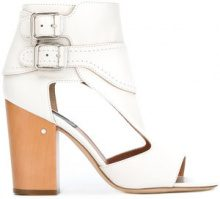 Laurence Dacade - ankle length sandals - women - Leather - 40.5, 42, 36, 36.5, 38, 38.5, 39, 39.5 - WHITE