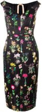 Nº21 - floral print sleeveless dress - women - Polyester/Cupro - 38, 40, 42, 44 - BLACK