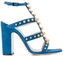 Pollini - Sandali con borchie - women - Chamois Leather/Leather - 36, 37, 37.5, 38, 38.5, 40 - BLUE