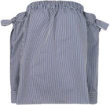 Miahatami - Blusa a righe - women - Polyester/Cotone - 42, 44 - BLUE