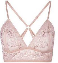 Laura Long Line Embroidered Bralet
