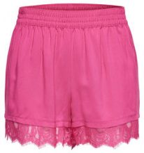 ONLY Lace Shorts Women Pink