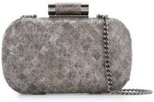 Inge Christopher - Clutch 'Lia' - women - Leather - OS - GREY
