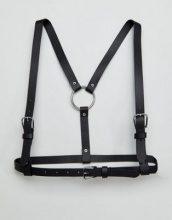 ASOS - Cintura con imbragatura - Nero