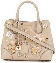 Michael Michael Kors - Borsa Tote 'Mercer Gallery' - women - Leather - One Size - Color carne & neutri