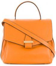 Visone - Borsa Tote 'Sofia' media - women - Leather - OS - Giallo & arancio