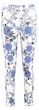 Ines pantaloni skinny elasticizzati a motivi floreali