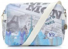 Borse bisacce Y Not?  Borsa donna  Modello reporter Paris Blu C 327 IN SALDO