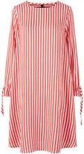 Y.A.S Striped Mini Dress Women Red