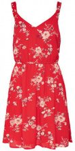 ONLY Flower Printed Sleeveless Dress Women Red