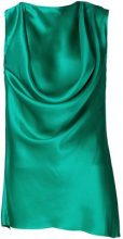 Ann Demeulemeester - 'Rasoseta' top - women - Silk - 38 - GREEN