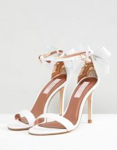 Ted Baker - Sandas - Sandali in pelle bianchi con fiocco - Bianco