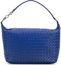 Bottega Veneta - cobalt Intrecciato nappa small shoulder bag - women - Leather - OS - BLUE