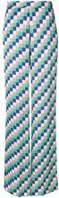 Etro - Pantaloni gamba larga - women - Viscose - 40 - MULTICOLOUR