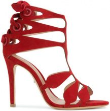 Schutz - Sandali con dettaglio cut out - women - Leather - 37, 38, 40, 41 - RED
