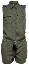 ONLY Detailed Playsuit Women Green