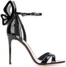 Sophia Webster - Madame Chiara sandals - women - Patent Leather/Leather - 36, 36.5, 37, 38, 38.5, 37.5, 39, 40 - BLACK