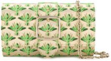 Casadei - Clutch stampata - women - Polyester/Kid Leather - OS - GREEN