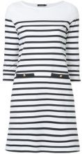Loveless - striped dress - women - Cotone - 34, 36 - Nero