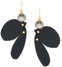 Marni - Orecchini pendenti - women - Leather - OS - BLACK